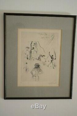 Salvador Dali (1904 1989) Radierung Les Négresses, 1969 handsigniert