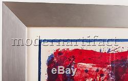 Sam Francis Affiche Moderna Museet Stockholm Lithograph Signed Painting Large
