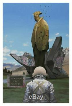Scott Listfield REALITY TELEVISION Art Print Trump Astronaut Make America MAGA