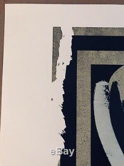 Shepard Fairey Obey Giant Dissobey 2015 Screen Print ed of 187 Slick Mint Art