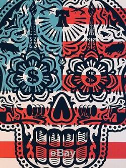 Shepard Fairey Obey Giant Merica Power and Glory Yerena Signed numbered print