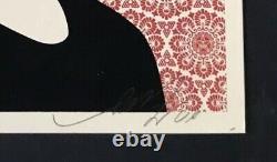 Shepard Fairey, S/N 2009 Angela Davis Screen Print, Supply and Demand
