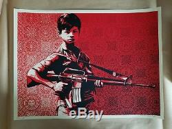 Shepard Fairey Signed Paster Duality of Humanity 4 Art Print Poster Obey Giant