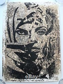 Shepard Fairey Vhils Signed Universal Personhood Print Obey Muslim Woman Poster