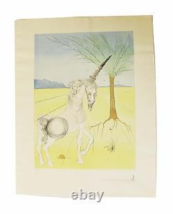 Signed Salvador Dali Original Prints, The Twelve Tribes of Israel. Full Box Set