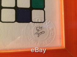 Space Invader Alex Rubik Kubrick Ed-300 Unsigned Retna Mr. Brainwash Obey Kaws