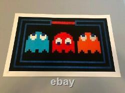 Space Invader Art Poster Print L. E. D. Prisoners Banksy Brainwash Dolk Whatson