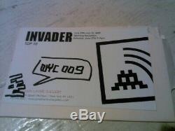Space Invader Invasion Kit #8 Third Eye NO RESERVE includes signed ephemera
