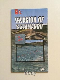 Space Invader Invasion of Kathmandu map no. 18 RARE ORIGINAL NO RESERVE