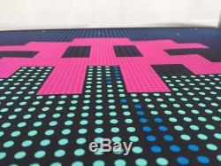 Space Invader L. E. D. Art Screen Print Sold Out Signed Numbered LED Kaws Banksy