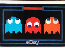 Space Invader Prisoners Print Ltd Edition 250 Perfect Condition
