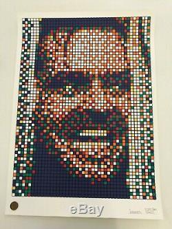Space Invader Rubik Kubrick 2 Jack Signed Print /150