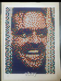 Space Invader Rubik Kubrick II Unsigned Pow Banksy Mbw