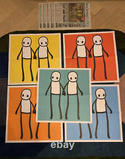 Stik Hackney Today Mint Poster FULL SET With Banksy Pic Worldwide Shipping