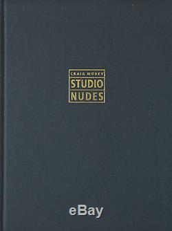 Studio Nudes, Selected Photographs 1989-1992 by Craig Morey, book + signed print