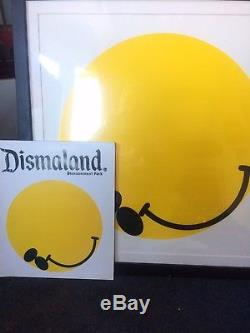 Stunning Dismaland (Banksy) James Joyce Limited Edition Print Number 44 Of 15