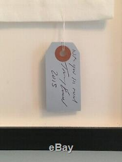 TRACEY EMIN, My Heart Is With You Always, Embroidered, Signed, Inscribed