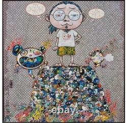 Takashi Murakami A Space Of Philosophy Limited Ed 300 Hand Signed Dated Numbered