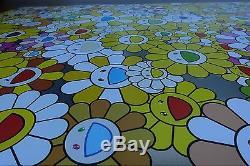 Takashi Murakami An Homage to Monogold Fine Art Print poster lithograph flower