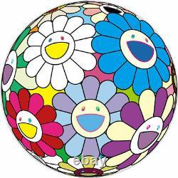 Takashi Murakami Festival Flower 300 Singed Flower Ball lithograph poster print