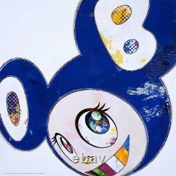 Takashi Murakami KAIKAI KIKI Blue DOB ED. 300 authentic sighed LIMITED rare