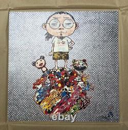 Takashi Murakami Print Me and Mr DOBs 2013 Limited ED Kaikai Kiki