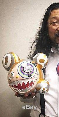 Takashi Murakami X ComplexCon Exclusive Mr. Dob Figure Gold Colorway MINT