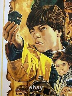 The Goonies Movie Poster 32/40 Art Print Paul Mann Steven Spielberg mondo sdcc