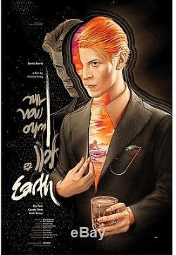 The Man Who Fell to Earth Mondo Tees Print LIMITED 325 Martin Ansin SDCC 2018