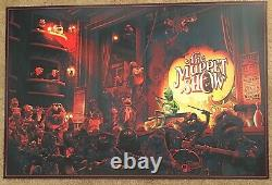The Muppet Show Mondo Poster By Kevin Wilson Kermit The Frog Jim Henson