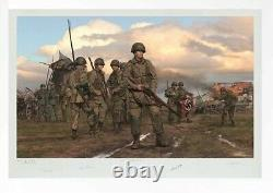 The Spoils of War art print featuring Band of Brothers and Dick Winters