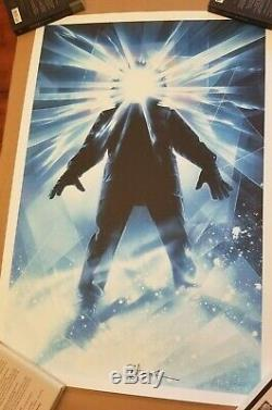 The Thing Mondo Numbered 202/435 Signed By Drew Struzan & John Carpenter See Pic