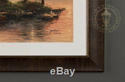 Thomas Kinkade Morning Light Lake 18 x 27 S/N Limited Edition Paper