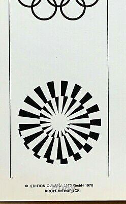 Tom Wesselmann (Edition 2) 1972 Olympic Poster Olympische Speiel Munich 40X 25