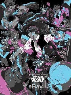 Tomer Hanuka Han Solo Star Wars Art Print Poster Mondo Force Rogue One NYCC