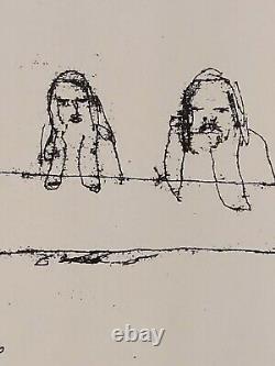 Tracey Emin Closed (2013) SIGNED RARE