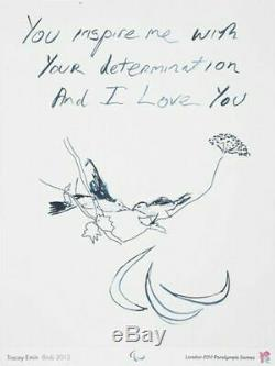 Tracey Emin London 2012 Olympic & Paralympic Games, Ltd Ed Poster Print