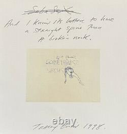 Tracey Emin Sobasex Merchandise From Sagacho Exhibit Space, Tokyo. 1998