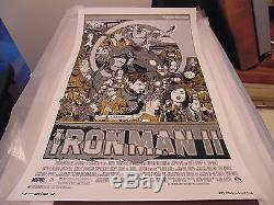 Tyler Stout Iron Man II 2 Poster Print Art VARIANT Marvel
