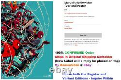 VARIANT Edition Marvel's Spider-Man by Cesar Moreno Mondo Poster / Print SDCC