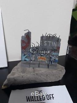 Walled Off Hotel Banksy New Wall Section Sculpture
