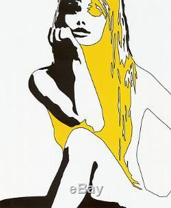 Werner Berges DIVA 2005, Siebdruck, Pop Art Grafik