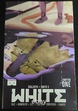 White #1 Black Mask Jesse James Comics Exclusive Ltd 250 Low Print Run Nm