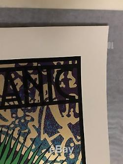 Widespread Panic Madison Square Garden Lady Chuck Sperry Show Print MSG