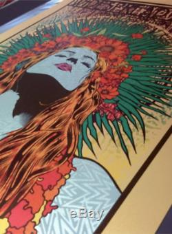 Widespread Panic Poster CHUCK SPERRY SpringLady RARE Variant Ed of 15 NO RESERVE