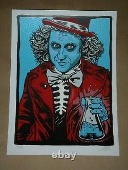 Zoltron Willy Wonka poster art print Primus New York