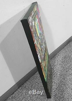 12x24 Old Skool, Art Mural Graffiti Nintendo 64 Rue Super Mario Brothers Nda