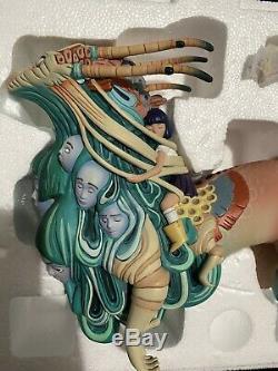2019 Designer Con / Dcon Unreal Statue Résine Par Lauren Tsai Medicom Toy / 3d Retro