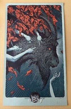 Aaron Horkey Affiche De La Variante De La Sorcière Mondo, Vacvvm & Alamo Drafthouse Artist