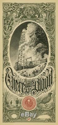 Aaron Horkey IL Y Aura Une Variante De Sang Mondo Limited Print Poster
